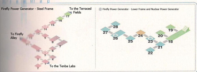 Firefly Power Generator Area Map