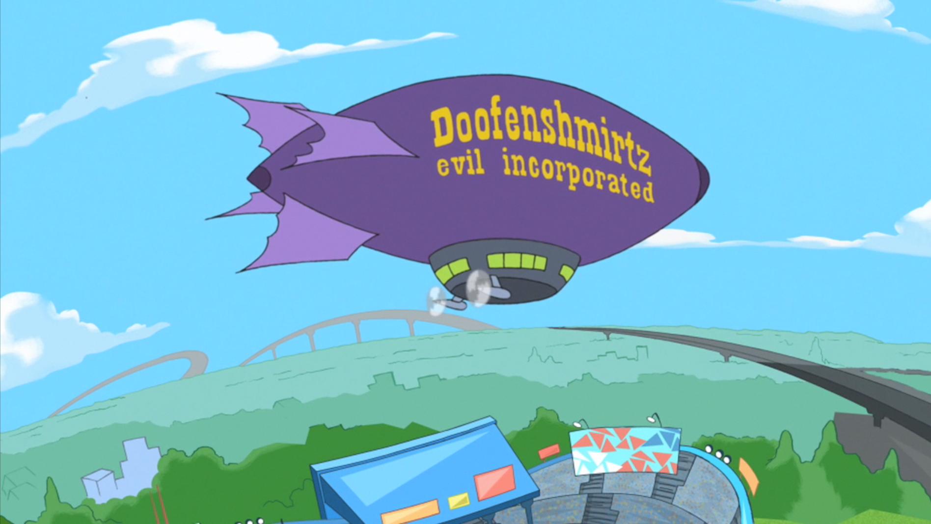 Phineas And Ferb Dr Doofenshmirtz Building Doofenshmirtz E...