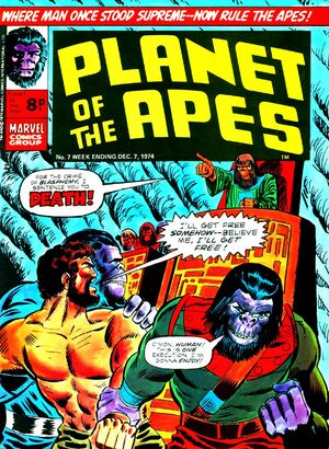 Planet of the Apes (UK) Vol 1 7