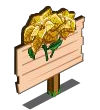Golden Poinsettia Mastery Sign-icon
