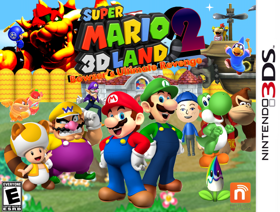 i a feeling will see a mario 3d land 2 this