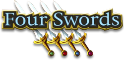 The Legend of Zelda - Four Swords (logo)