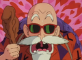 Master Roshi seeing bulma&#39;s crotch