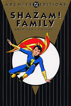 Cover for Shazam Family Archives #1