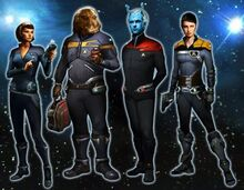 Star Trek Online characters
