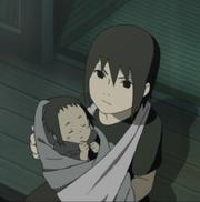 Misiones de Mei Terumi - Página 2 180px-Itachi_y_Sasuke_en_el_Ataque_de_Kurama_a_Konoha