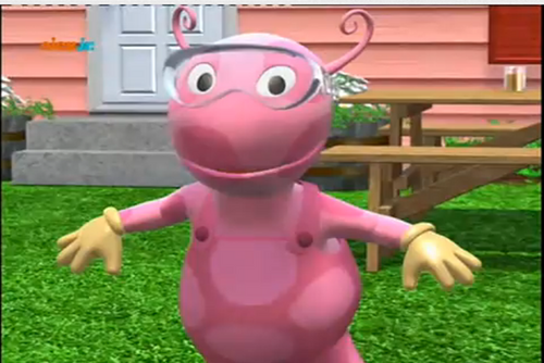 Backyardigans Japanese : Attack of the 50 Foot WormanImages  The Backyardigans Wiki