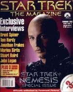 Star Trek The Magazine volume 3 issue 10 cover 3
