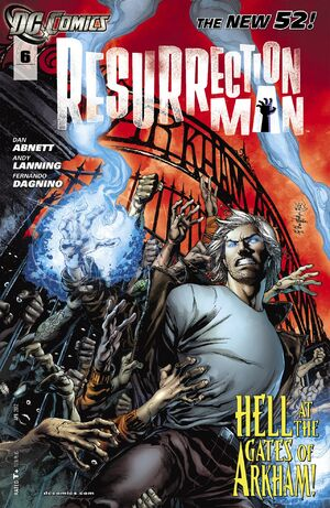 Cover for Resurrection Man #6