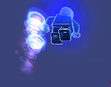 Mythran using a Jetpack