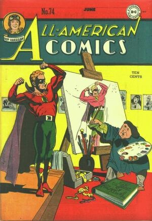 Cover for All-American Comics #74