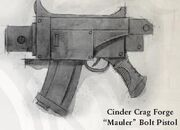 Mauler bolt pistol