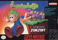 Lemming-snes