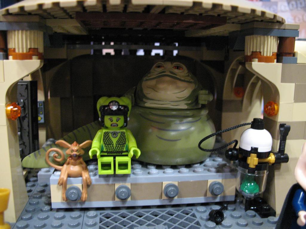 Лего Звездные Войны Дворец Джабы Инструкция