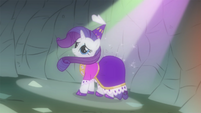 Rarity as seen in Spike's imagination S1E19