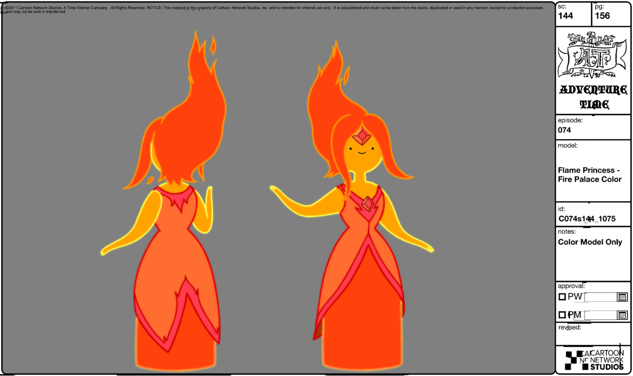 Flame Princess from Adventure Time and Claret from Teahouse - Cosplay ...