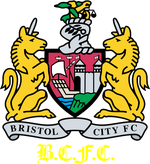 Bristol City FC logo (1997-1998, home)