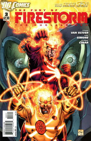 Cover for Fury of Firestorm #3