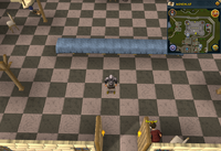 Emote clue Dance Party Room