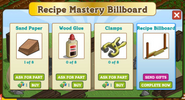 Recipe Billboard Building Materials