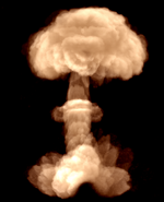 Nuke detonation cloud Aftermath CoD4