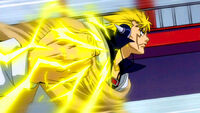Laxus&#39; Lighting Fist
