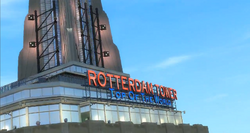Cartel de la Rotterdam Tower-GTA TBOGT
