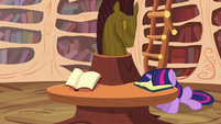 Twilight Sparkle face book S2E18