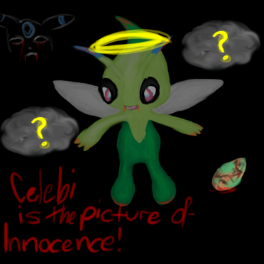 Celebi is the picture of by doldendraco14-d3ajza2