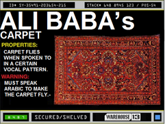 Ali Baba&#39;s Carpet