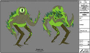 Modelsheet cyclops(forest)