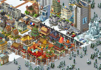 Cityville chinese newyear