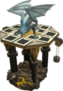 Clan Frost Dragon on Stand