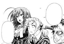 Medaka supports Zenkichi