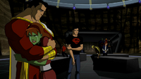 Miss Martian's grief