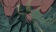 Kurama disminucion de tamaño