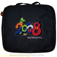 2008 Disney Pin Trading Bag