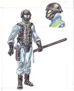 Vault security armor CA2