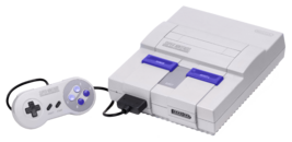 Super Nintendo North America Model