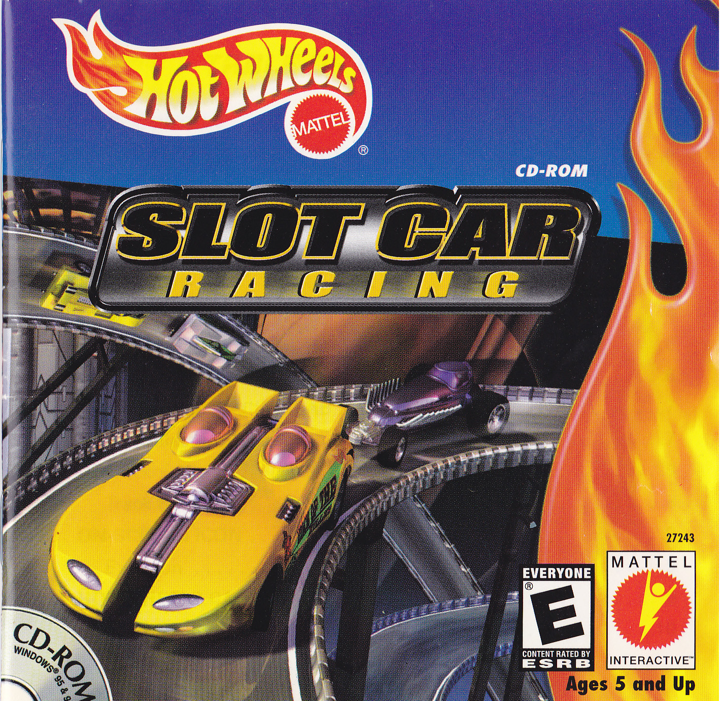 Car Games: Hot Wheels Slot Car Racing