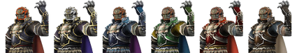 Distintos Ganondorf SSBB