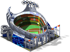 Dtwn deco baseball stadium