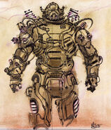 Enclave power armor CA2