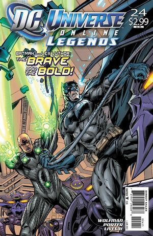 Cover for DC Universe Online Legends #24