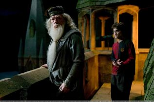 Dumbledore&amp;Harry
