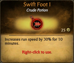 Swift Foot I card