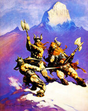 Frank Frazetta - The Frost-Giant&#39;s Daughter