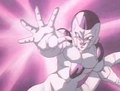 Frieza fires blast