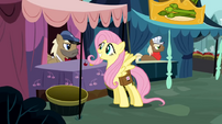Fluttershy smile1 S02E19