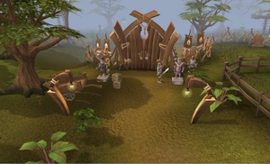 Tree gnome stronghold gate